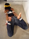 Black Girl Barefoot & Bound