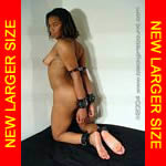 Black girl nude in shackles